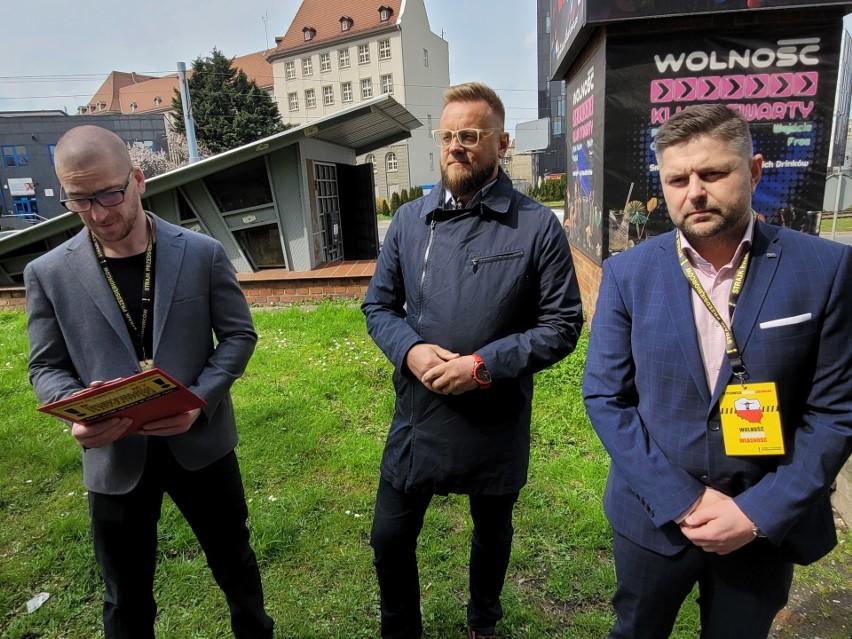 Konferencja prasowa Strajku Przedsiębiorców we wtorek,...