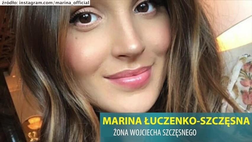 Marina Łuczenko-Szczęsna - żona Wojciecha Szczęsnego