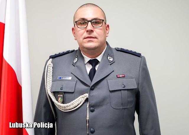 Nadkom. Rafał Banach nowym zastępcą komendanta lubuskiej policji.