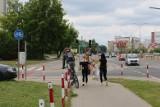 Koniec z mandatami dla rowerzystów. Miasto chce zbudować w końcu ścieżkę wzdłuż całej ul. Kaczorowskiego