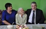 Stefania Wieczorek z Płocicza obchodziła w Wigilię 106 urodziny