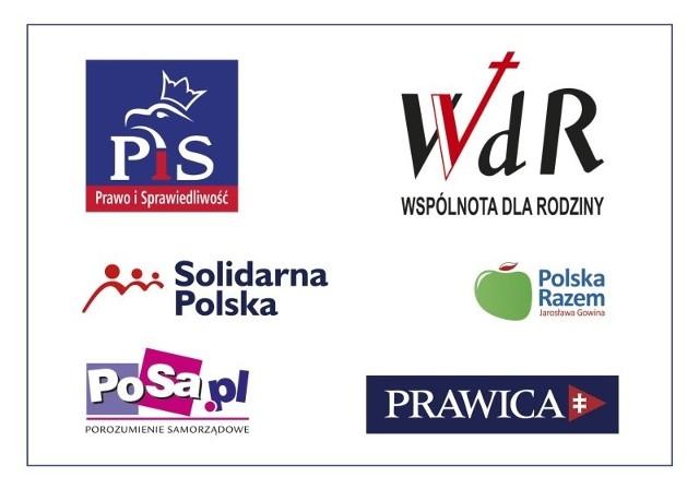 Kandydatów prawica nadal nie przedstawiła, zaprezentowała za to wspólne logo.
