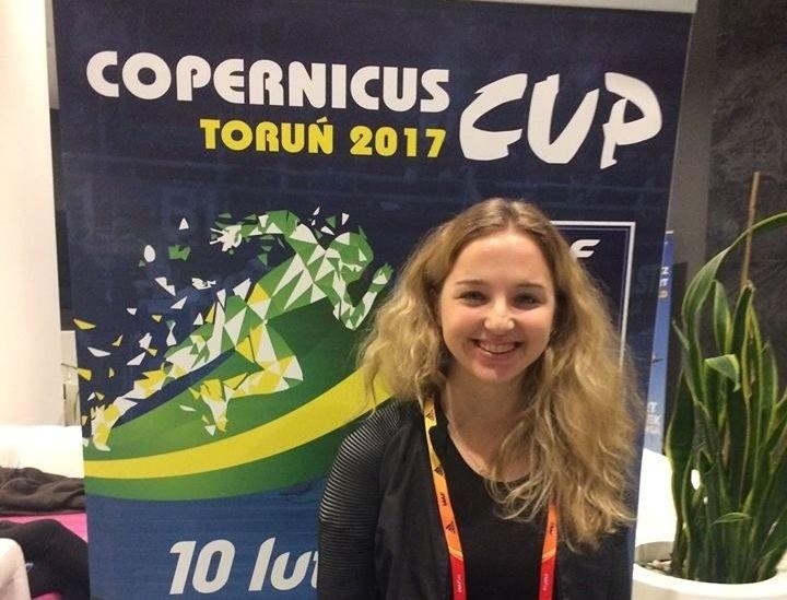 Karolina Kołeczek jest już w Toruniu. W piątek o 19.35 ma start w Copernicus Cup.