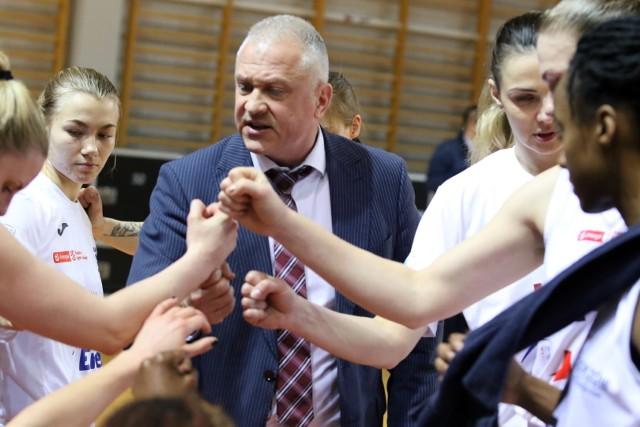 Drużyna prowadzona przez Dariusza Maciejewskiego dotarła też do 1/8 finału EuroCup Women.