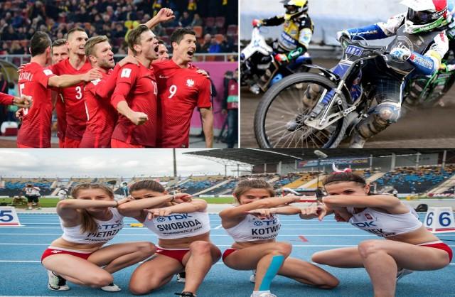 Rok 2017 będzie bogaty w sportowe emocje. Nie będzie rokiem igrzysk czy piłkarskiego Euro, ale kibice na pewno nie będą mogli narzekać na brak wrażeń - od ligowych boisk, po wielkie światowe areny. Od koszykarskich i siatkarskich parkietów, przez narciarskie skocznie, lekkoatletyczne bieżnie, żużlowe tory, aż po piłkarskie boiska.