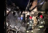 Pożar w Gowarzewie koło Poznania - strażacy gasili płonący dom jednorodzinny [ZDJĘCIA]