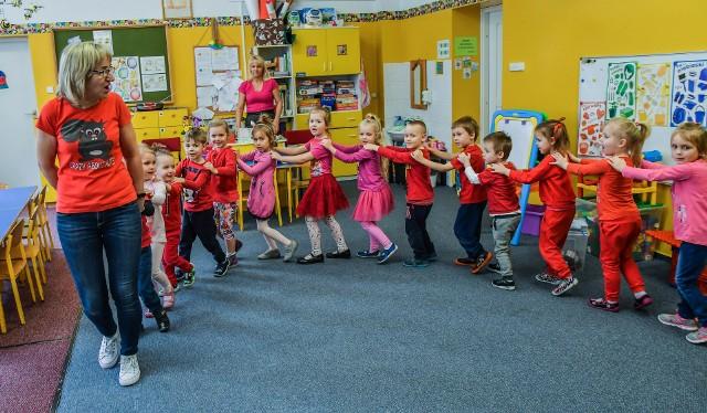 W Przedszkolu nr 6  w Bydgoszczy większość, bo aż 134 maluchy będą kontynuowały naukę. W naborze na nowy rok szkolny będzie można przyjąć tu 50 dzieci.