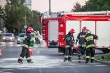 Zderzenie śmieciarki z betoniarką pod Bydgoszczą. Kierowcy ranni