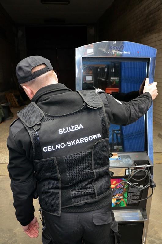 Jedno z miejsc w województwie kujawsko-pomorskim, w którym były dostępne nielegalne gry na automatach