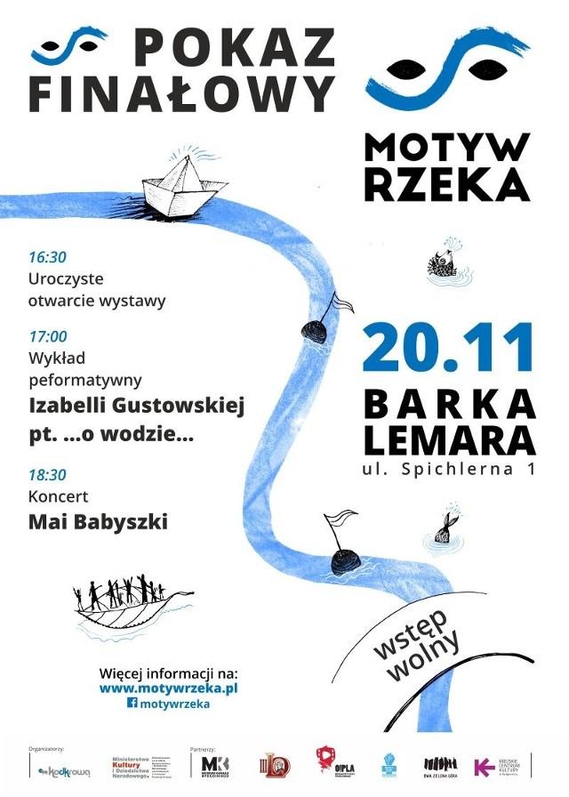 """Finał """"Motywu Rzeka"""" zaplanowano na 20 listopada."""