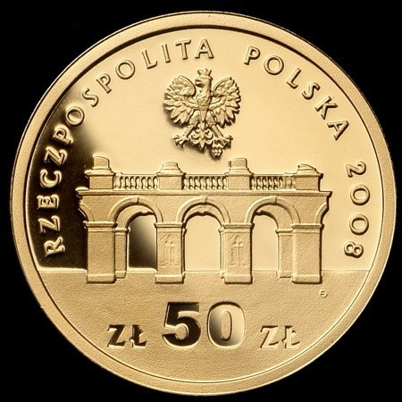 Projekt wykonała Ewa Olszewska-Borys. Wizerunek Grobu Nieznanego Żołnierza na Placu Marszałka Józefa Piłsudskiego.