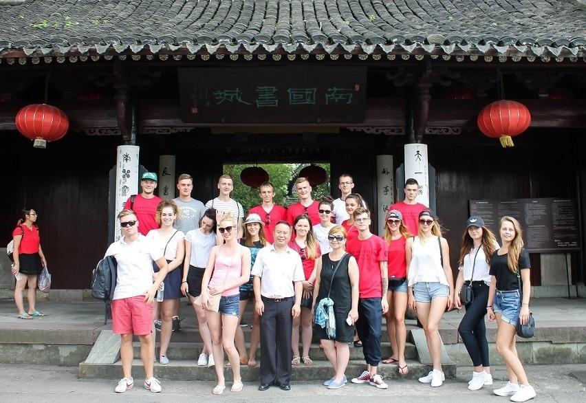 Studenci Politechniki Białostockiej w Chinach