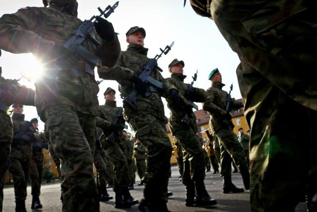 Na początku listopada we Wrocławiu miała miejsce przysięga kandydatów na oficerów Wojsk Obrony Terytorialnej