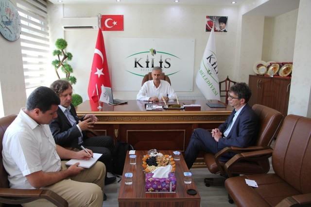 Spotkanie z burmistrzem Kilis, Ahmet Polat