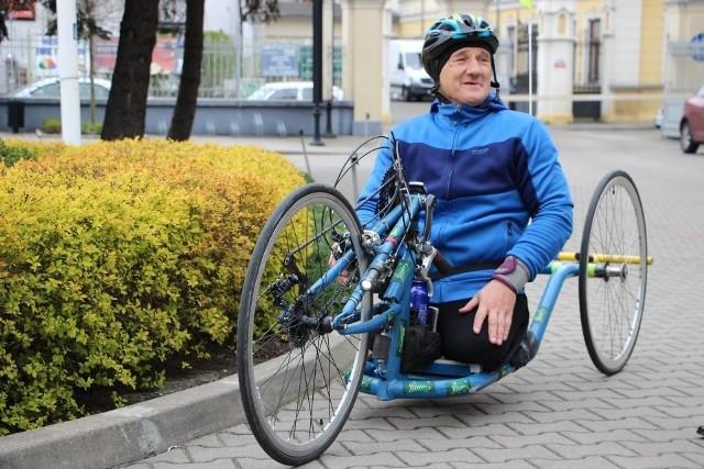 Krzysztof Jarzębski jest gotowy do kolejnej ważnej wyprawy z Rzymu do Łodzi