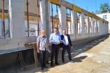 Budowa krytej pływalni w Ciepielowie. Co się dzieje na budowie? Jaki postęp prac?