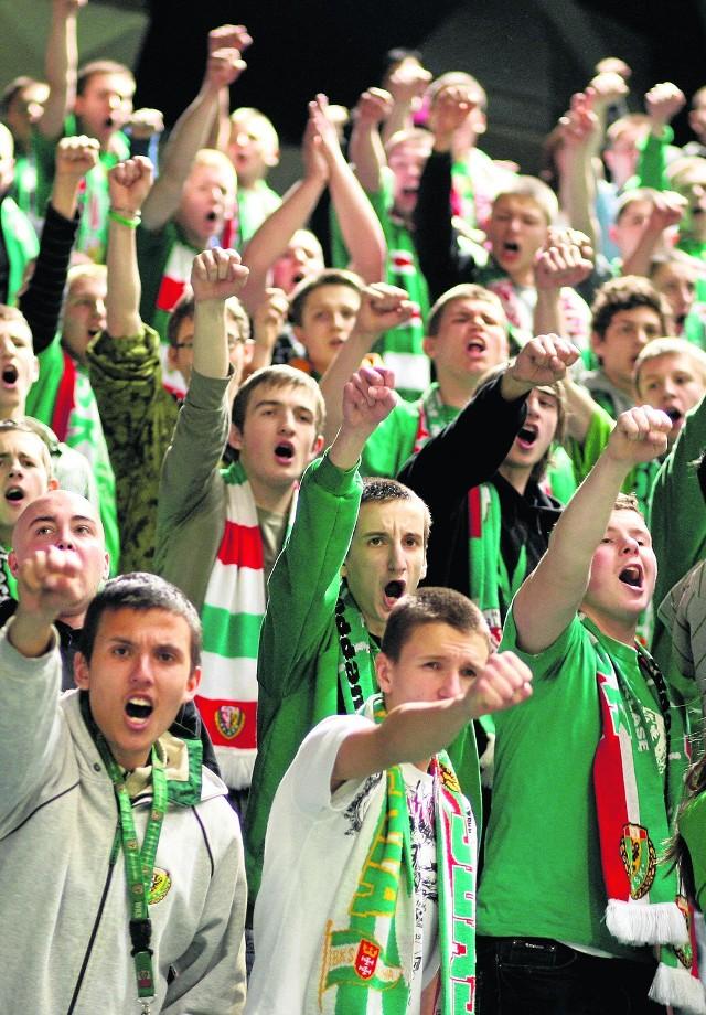 Kibice Śląska liczą, że ich drużyna wreszcie wróci do elity