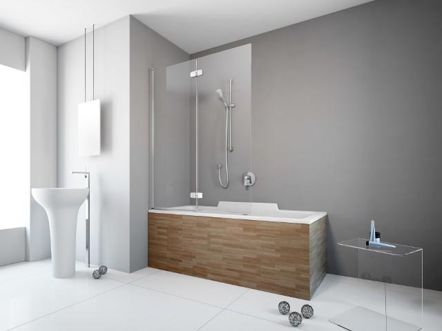 Parawan nawannowy Fuenta New PNDPawan jest dobrym rozwiązaniem dla osób, które planują w przyszłości generalny remont łazienki, by wstawić wannę oraz oddzielny prysznic. Już teraz niewielkim kosztem mogą poprawić komfort kąpieli.