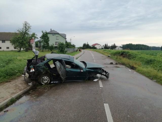 Wypadek w Szli, 20.06.2020