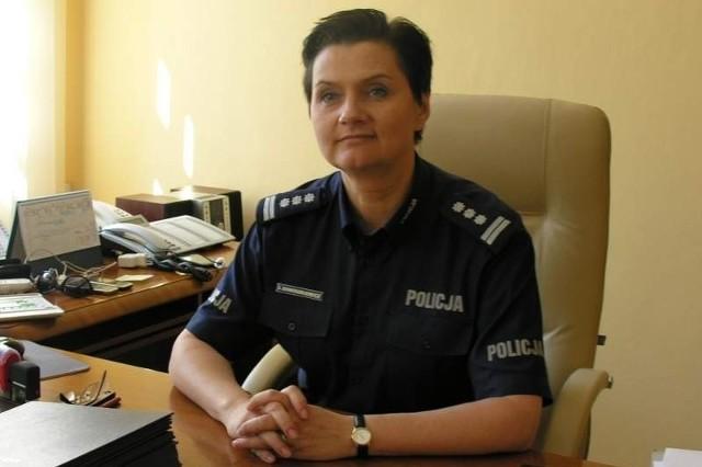 Insp. Irena Doroszkiewicz karierę zaczęła robić w Białymstoku.