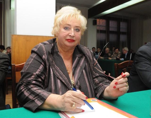 Radna Grażyna Wojciechowska słynie z ostrego języka i nieustępliwości. Sąd ocenił jednak (nieprawomocnie!), że w sporze z B. Zajbert radna przesadziła z ocenami.