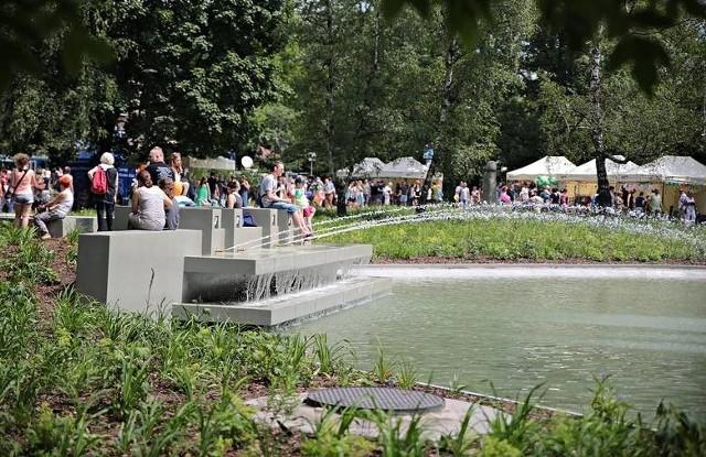 Tak wygląda park Krakowskie po remoncie
