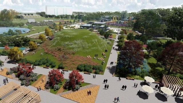 Tak ma wyglądać jeden z parków przygotowany na Expo.