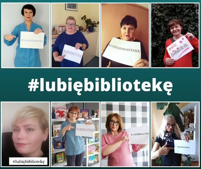 Bibliotekarki zachęcają mieszkańców powiatu wąbrzeskiego do wzięcia udziału w organizowanej przez nie akcji