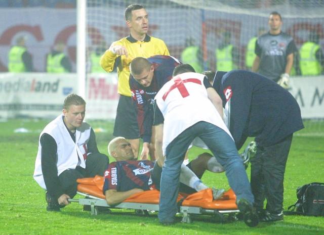 Sergio Batata nie był oszczędzany przez rywali.
