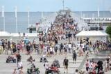 Sopot: Ponad 26 tys. sprzedanych biletów na molo i 110 mandatów straży miejskiej w weekend 13-15.08.2021 r.