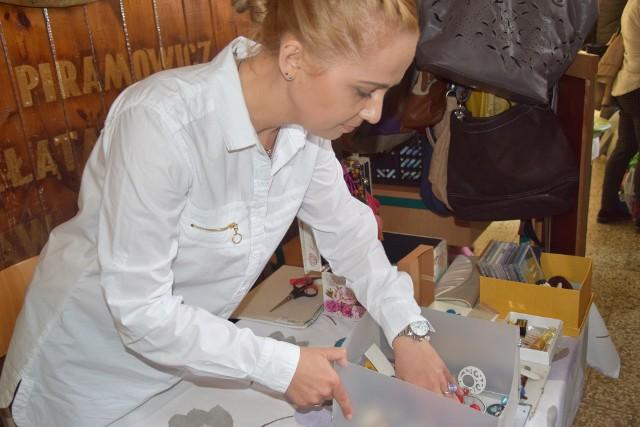 Anna Maria Fedurek, organizatorka wyprzedaży garażowej