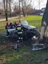 Tragiczny wypadek w Broniszowie. Zginął 30-letni policjant z Małopolski
