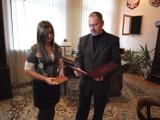 14-letnia burmistrz urzęduje dzisiaj w Trzebiatowie