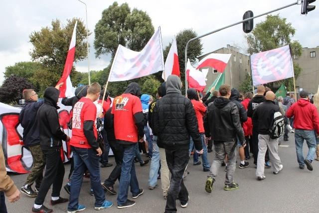 Marsz Polski Walczącej w Zgierzu (22.09.2013)