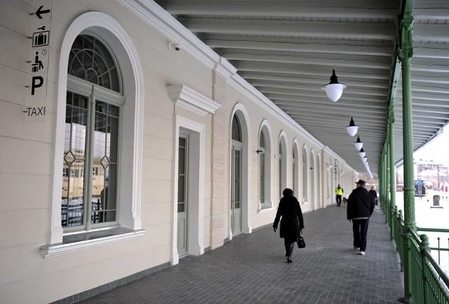 Dworzec w Przemyślu zyskał miano najpiękniejszego w Polsce.