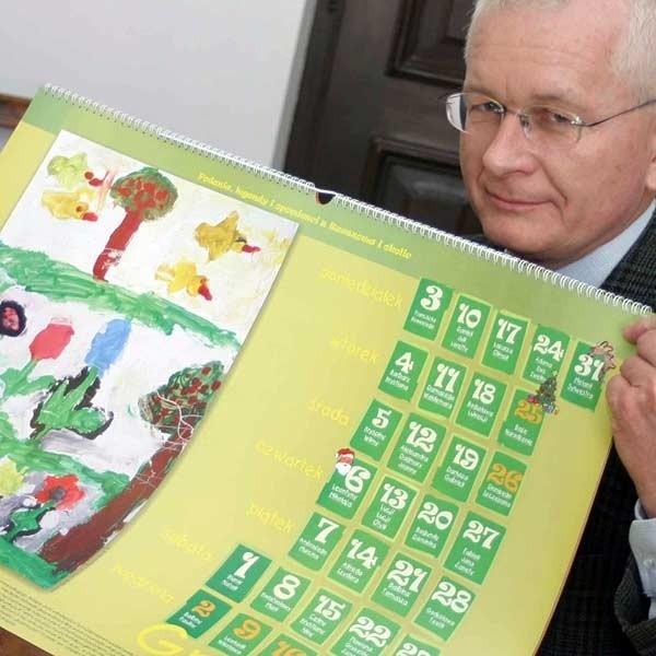 Byliśmy pewni wygranej, bo nasz kalendarz wyróżnia się wśród wydawnictw promocyjnych innych miast - mówi Piotr Latawiec, wiceprezydent Rzeszowa.
