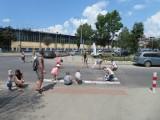 Kraków. Mieszkańcy Grzegórzek czekają na rondo przy ul. Fabrycznej. I jeszcze trochę poczekają