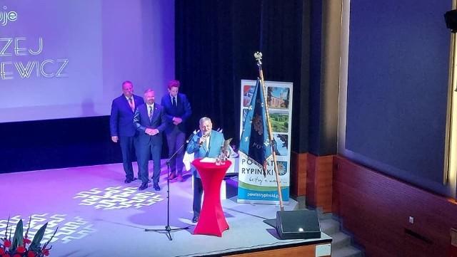 W tym roku Andrzej Pawlewicz obchodzi 40-lecie pracy na rzecz rypińskiej kultury