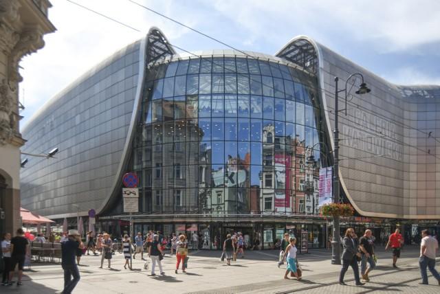 Katowice centrum galeria katowicka 27.8.2015 fot. maciej gapinski / polska press