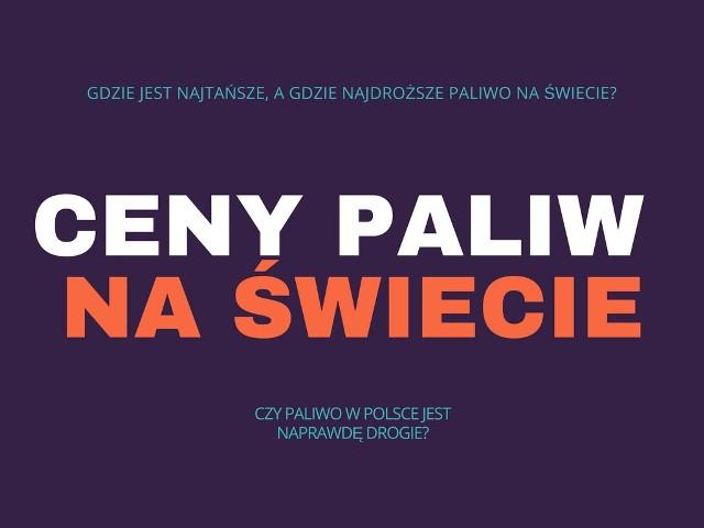 Ceny paliw rosną w zastraszającym tempie, ale wbrew pozorom w Polsce wcale nie płacimy dużo na stacjach benzynowych. Są jednak kraje, w których tankować można dużo taniej. Zobacz gdzie są najwyższe, a gdzie najniższe ceny paliw na świecie!