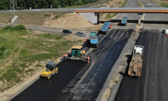 Na drodze S3 Lubin-Polkowice trwają prace