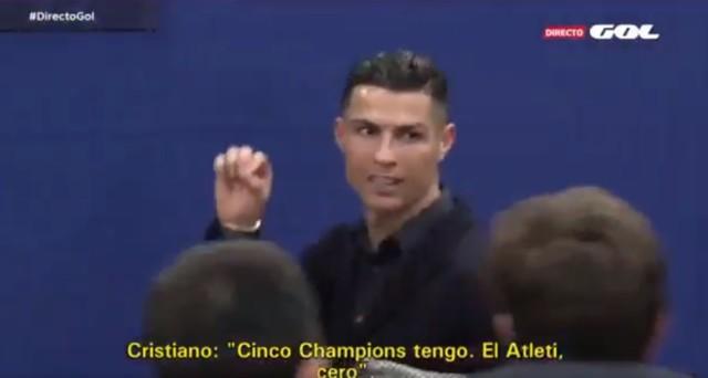 Ronaldo tym razem opuszczał Madryt wściekły.