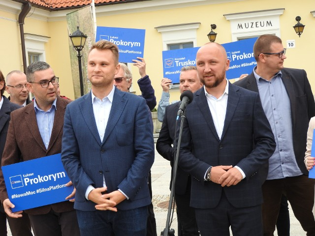 Nowa moc, silna Platforma - z tych hasłem idzie po władze w białostockich strukturach partii Łukasz Prokorym