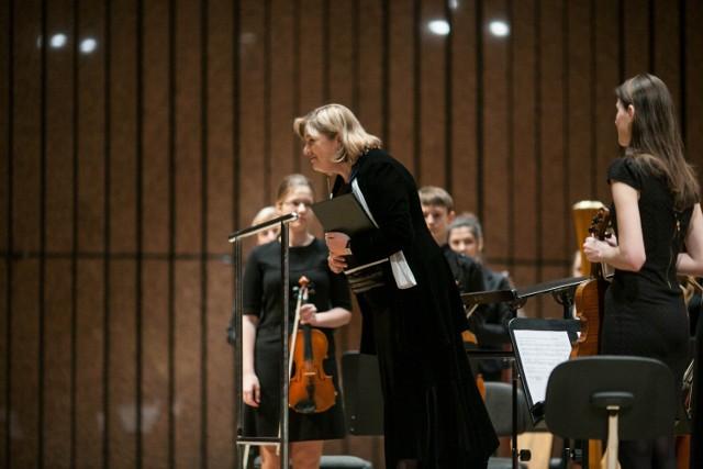 Koncert absolwentów szkoły muzycznej.