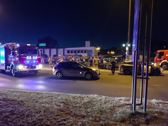 Wypadek przy PKS w Lublinie