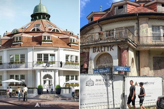 Hotel Bałtyk w Międzyzdrojach