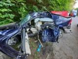 Tragiczny wypadek na drodze 212 koło Cewic. Nie żyje 19-latek z Bytowa (szczegóły)