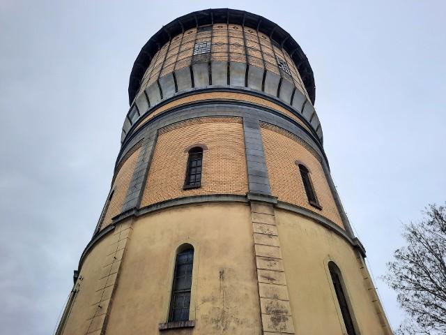 Wieża ciśnień jest jednym z charakterystycznych obiektów Szprotawy
