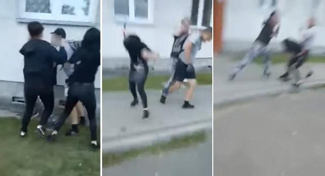 Brutalna bójka w Mirosławcu Górnym. 16-latka została raniona nożem
