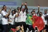 Mistrzowskie świętowanie Portugalczyków w Lizbonie